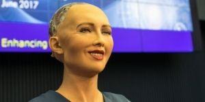 Futuristic Tech AI Robot