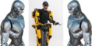 Futuristic Tech superhuman clothing